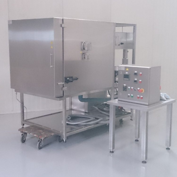 Temperature cycle chamber on nitrogen (-195 to + 300°C)