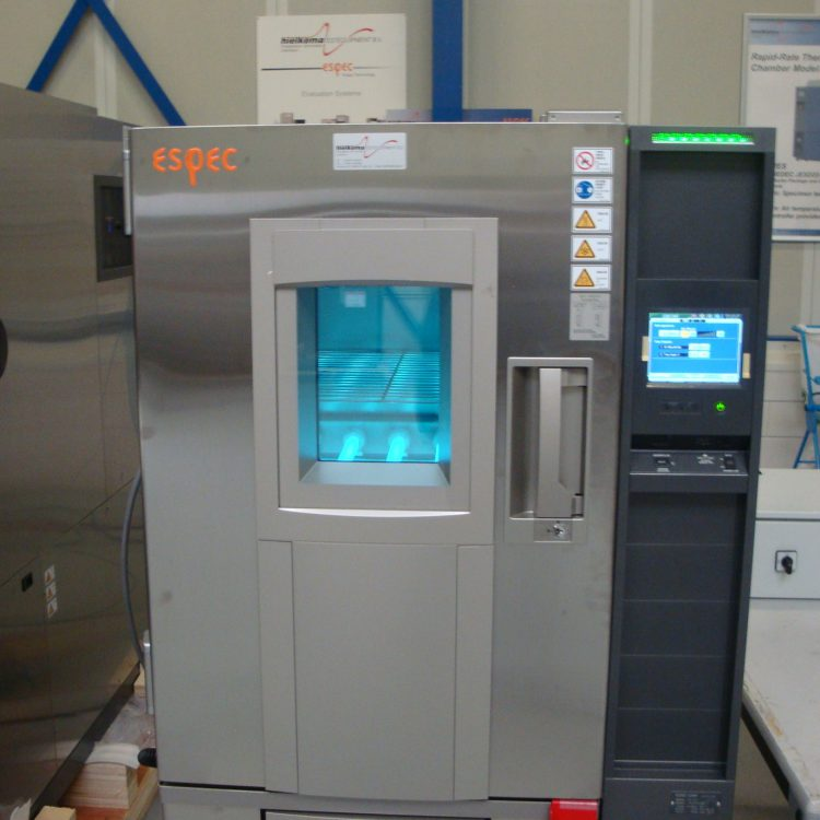UV climate chamber